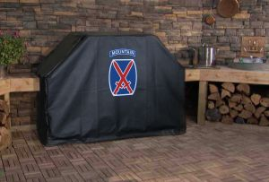 10th Mountain Division Logo Grill Cover