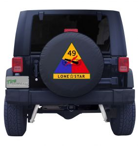 49th Armored Division Custom Tire Cover