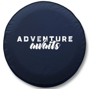 Adventure Awaits RV Tire Cover