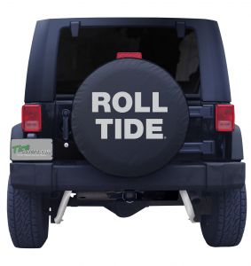 Alabama Roll Tide Spare Tire Cover with Grey Logo