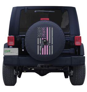Nurse American Flag with Camera Port