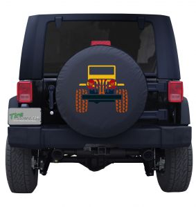 Arizona State Flag Jeep Wrangler Tire Cover