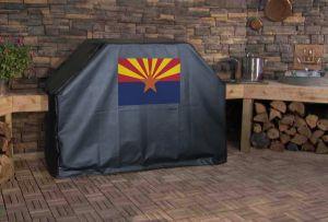 Arizona State Flag Logo Grill Cover
