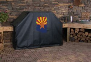 Arizona State Outline Flag Logo Grill Cover