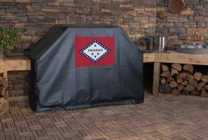 Arkansas State Flag Logo Grill Cover