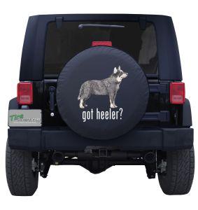 Australian Cattle Dog Got Heeler Spare Tire Cover Jeep wrangler