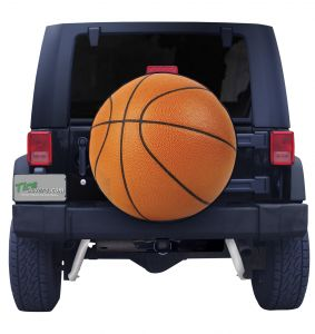 Basketball Tire Cover