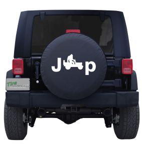 Bigfoot's Jeep Custom Tire Cover