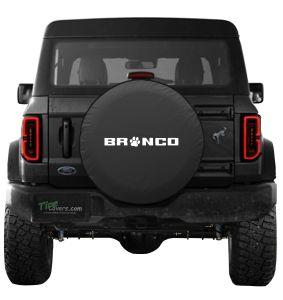 Bronco Paw Spare Tire Cover