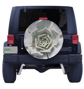 Cactus Flower Tire Cover