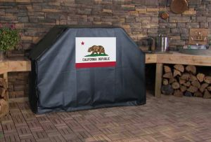 California State Flag Logo Grill Cover