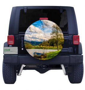 Trout Pond Tire Cover