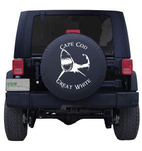 Cape Cod Great White Custom Tire Cover