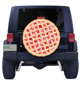 Cherry Pie Tire Cover Front