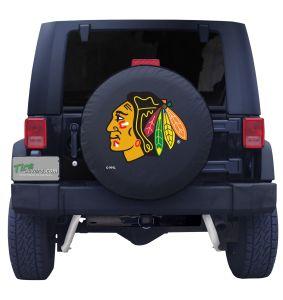 Chicago Blackhawks Tire Cover