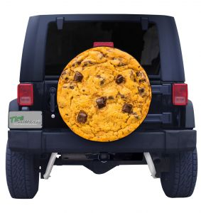 Chocolate Chip Cookie Tire Cover