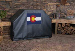 Colorado State Flag Logo Grill Cover