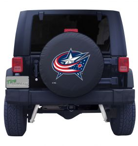 Columbus Blue Jackets Tire Cover