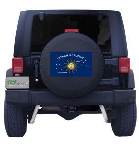 Conch Republic Flag Jeep Tire Cover