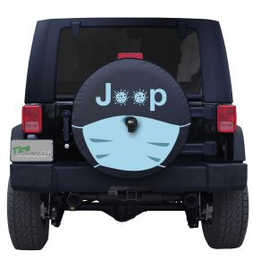 Jeep Face Mask Tire Cover