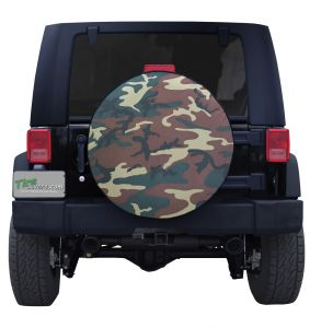 Camouflage Tire Cover
