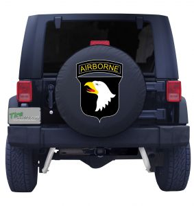 United States Army Airborne Tire Cover Front