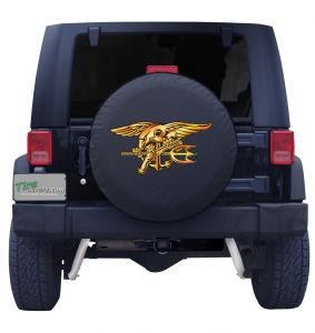 United States Navy Seals Tire Cover Front