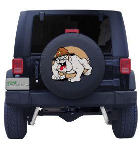 USMC Bulldog Tire Cover Front