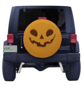 Pumpkin Face Tire Cove