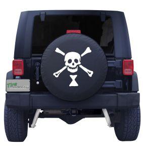 Emanuel Wynn Pirate Flag Tire Cover