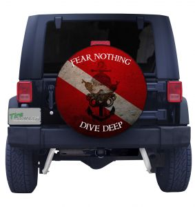 Dive Deep Front Spare Tire Cover
