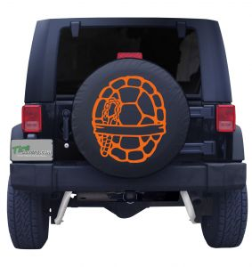 Fighting Ninja Turtle Shell Jeep Tire Cover