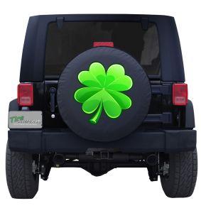 Custom Four Leaf Clover Spare Tire Cover