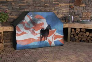 Freedom Horse Logo Grill Cover