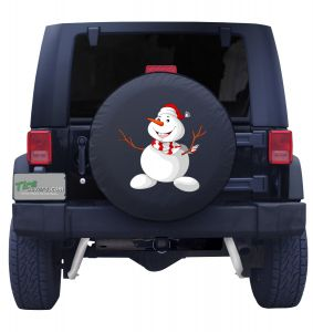 Frosty the Snowman Tire Cover Front