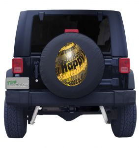 Easter Chocolate Egg Tire Cover Front