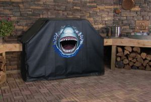 Great White Shark Logo Grill Cover
