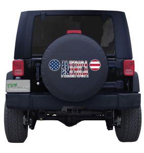 Jeep Grill America Custom Tire Cover