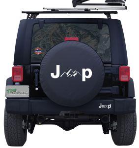 Jeep Mountains Custom Tire Cover Jeep Wrangler