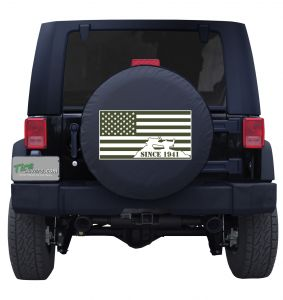American Flag Jeep Since 1941 Tire Cover