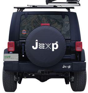 Jeep Ski and Snowboard Custom Tire Cover