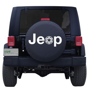 Jeep Imperial Stormtrooper Tire Cover