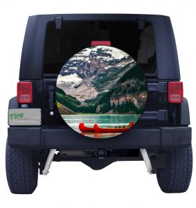Lake Louise Tire Cover