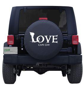Love Cape Cod Custom Tire Cover