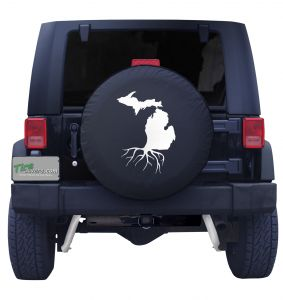 Michigan Roots Tire Cover Front