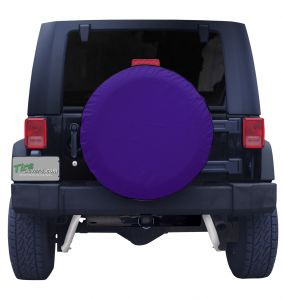 Plain Purple Spare Tire Cover