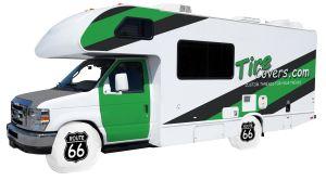 Route 66 RV Tire Shade