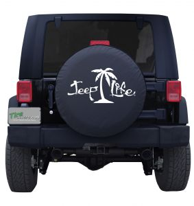 Jeep Life Palm Tree Tire Cover