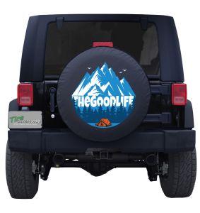 The Good Life Base Camp Custom Tire Cover