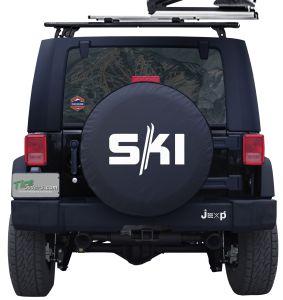 Ski Custom Tire Cover